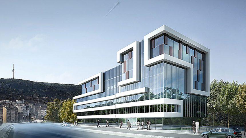 Gebäudekonzept Stuttgart Pauline