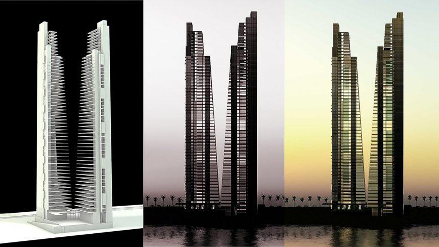 Konzept Vray Tower