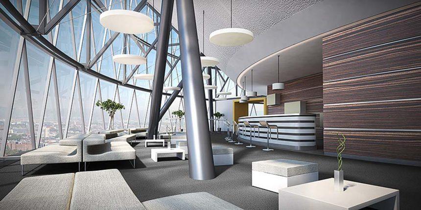 Büroetage Visualisierung in Frankfurt 02